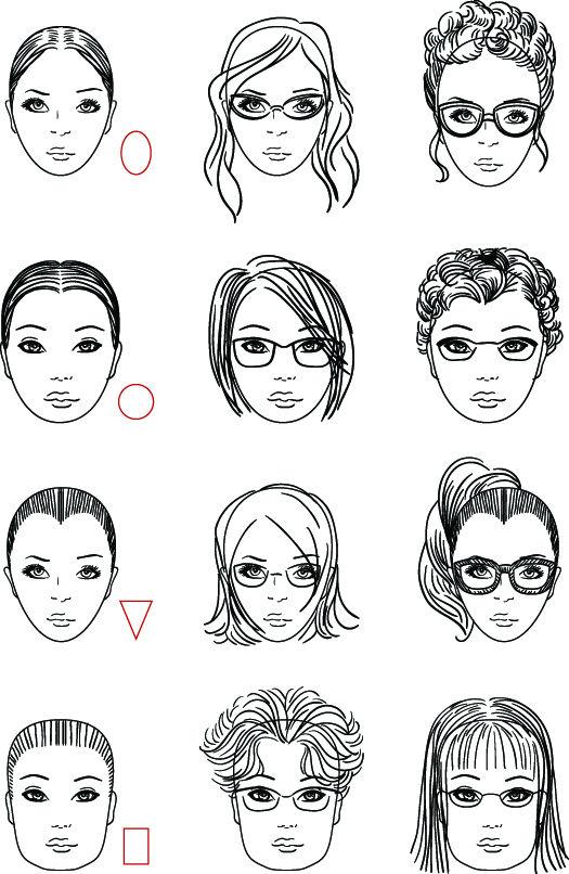 selezione migliore a4d92 6288c Come scegliere gli Occhiali in base al Viso