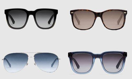 Gucci occhiali da sole uomo autunno inverno 2016-2017