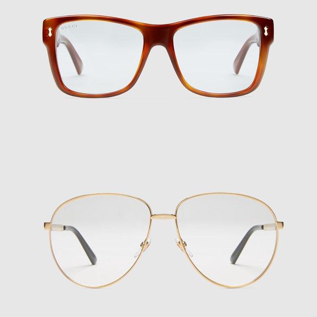 Gucci occhiali da vista uomo primavera estate 2016 for Montature occhiali uomo 2016