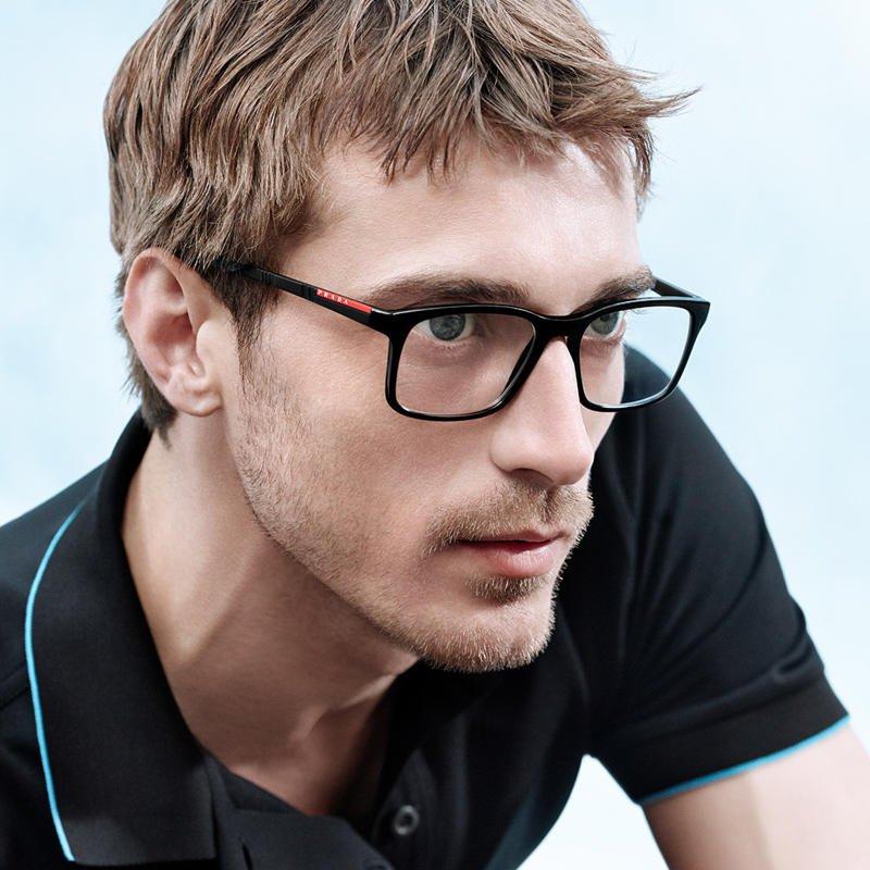 6bbbbfc7cb Prada occhiali da vista uomo primavera/estate 2018
